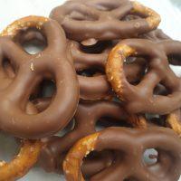 Belgian Milk Chocolate Sourdough Pretzels